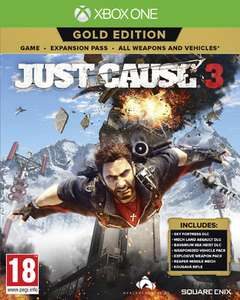 Jeu Just Cause 3 Gold Edition sur Xbox One