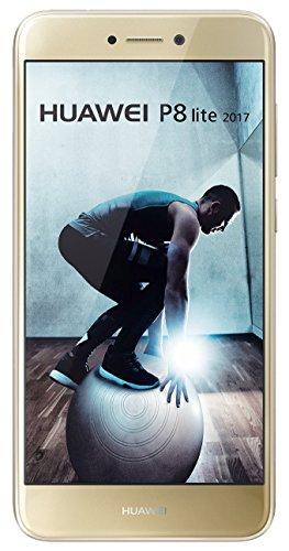 """Smartphone 5.2"""" Huawei P8 Lite 2017 - Full HD, Kirin 655, RAM 3 Go, ROM 16 Go - Gold"""