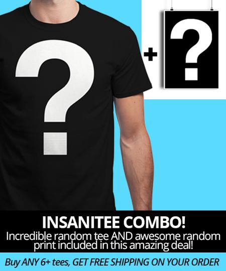 T-shirt + impression aléatoire