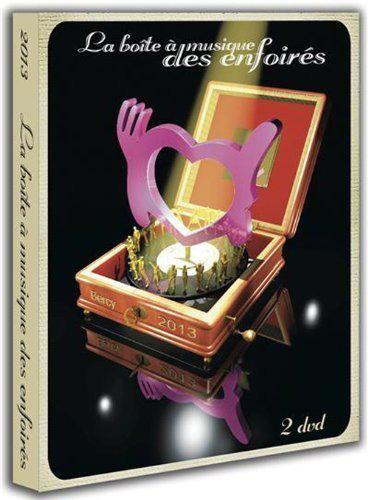 Cofret 2 DVD La boîte à musique des Enfoirés