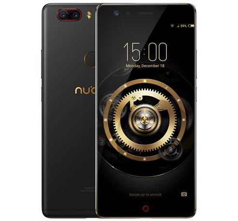 "Smartphone 5.5"" ZTE Nubia Z17 Lite - Full HD, Snapdragon 653, RAM 6 Go, ROM 64 Go (Version Française - Sans B20)"