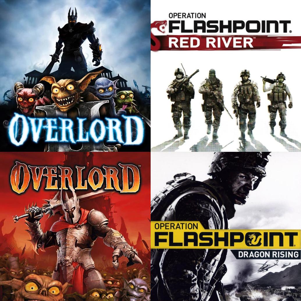 [Nouveaux Clients] Overlord + Overlord 2 + Opération Flashpoint: Dragon Rising + Red River (Dématérialisé - Steam)