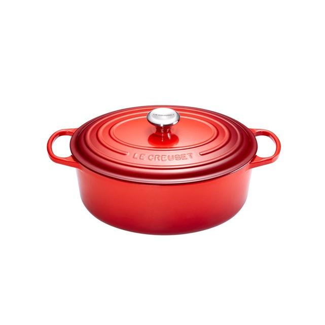 Cocotte Ovale Ma Nouvelle Le Creuset - 27 cm, Rouge