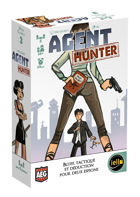 Sélection de Jeux de Poche Iello en Promotion - Ex: Agent Hunter