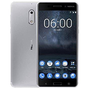 """Smartphone 5.5"""" Nokia 6 (2017) - 3Go de Ram, 32Go, 16 Mégapixels, Snapdragon 430"""