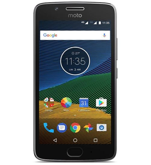 "Smartphone 5"" Lenovo Moto G5 - 16Go ROM, 3Go RAM, Snapdragon 430"