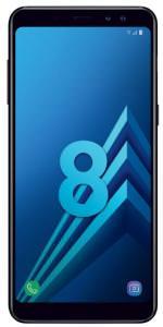"""Smartphone 5.6"""" Samsung Galaxy A8 Noir Carbone (2018) - Full HD+, RAM 4Go, 32Go"""