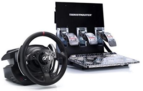 Volant et pédalier compatible PS3/PS4 et PC Thrustmaster T500RS