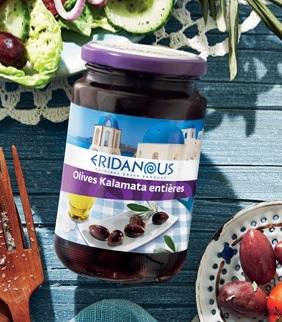 Olive Kalamata entières de Grèce