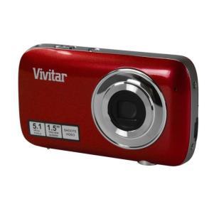 Appareil Photo Numérique 5mpx VIVITAR V52 - Rouge