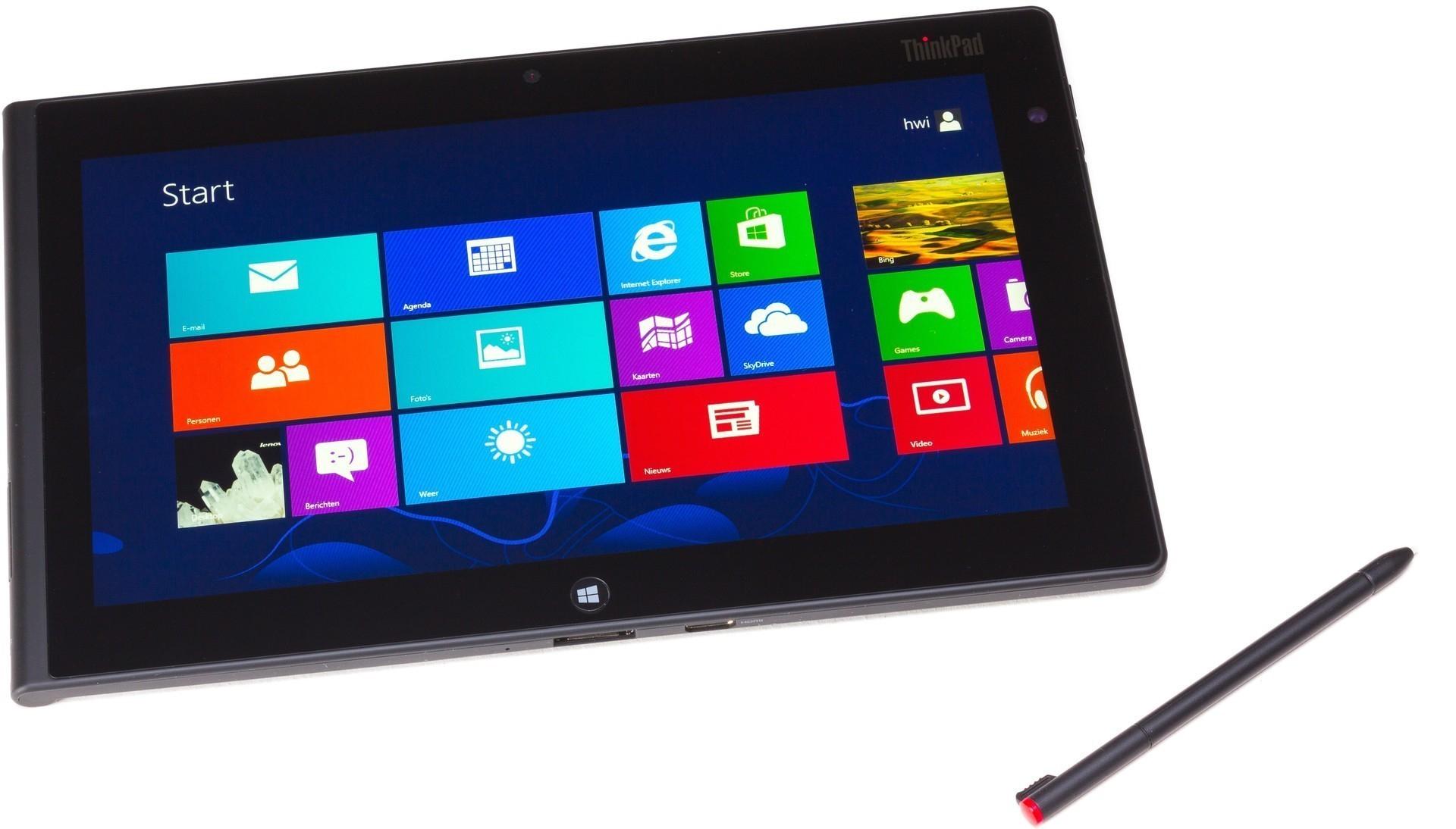 """Tablette 10.1"""" Lenovo ThinkPad 10 2 - Atom x7-Z8700, 4Go de RAM, 128 Go de ROM, Windows 10 (Neuf)"""