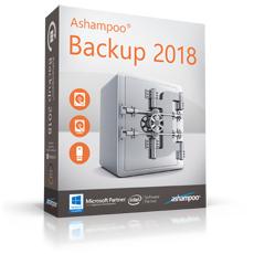 Logiciel de sauvegarde Ashampoo Backup 2018 Gratuit (Dématérialisé)