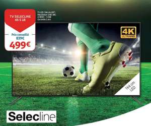 "TV 65"" Selecline 65S18 - UHD 4K (Frontaliers Luxembourg)"