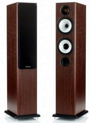 Paire d'enceintes colonne Monitor Audio BX5 + Amplificateur Atoll noir laqué IN 30SE