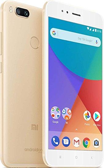 "Smartphone 5.5"" Xiaomi Mi A1 - SnapDragon 625, 4 Go de RAM, 64 Go, 4G (B20), or (entrepôt FR)"
