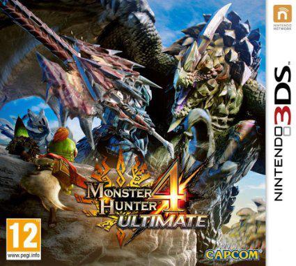 Jeu Monster Hunter 4 Ultimate sur Nintendo 3DS