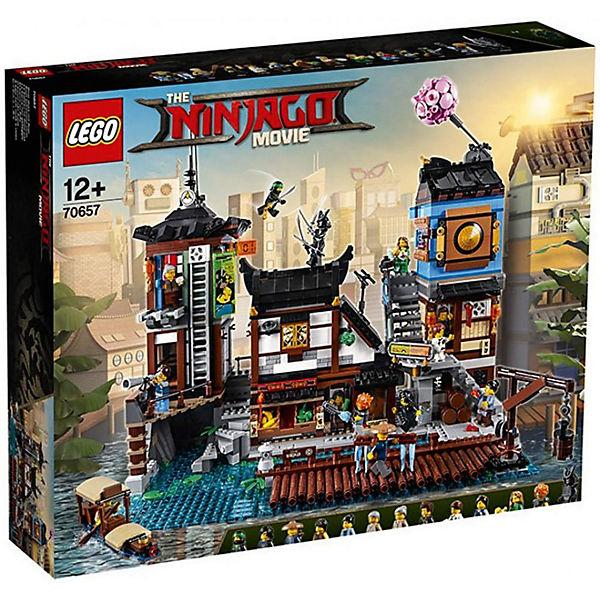Jeu de construction Lego Ninjago - Les quais de la ville (70657)