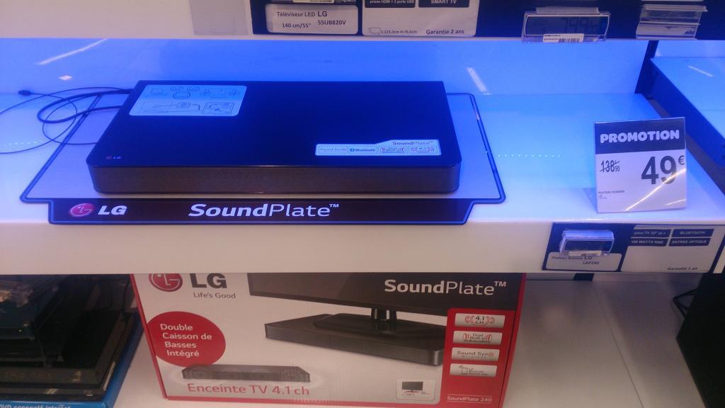 Barre de son LG SoundPlate 240