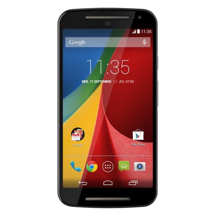 "Smartphone 5"" Motorola Moto G 4G 2nde Génération"
