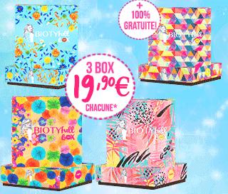 4 Box Beauté Produits 100% Bio  / Naturels (biotyfullbox.fr)
