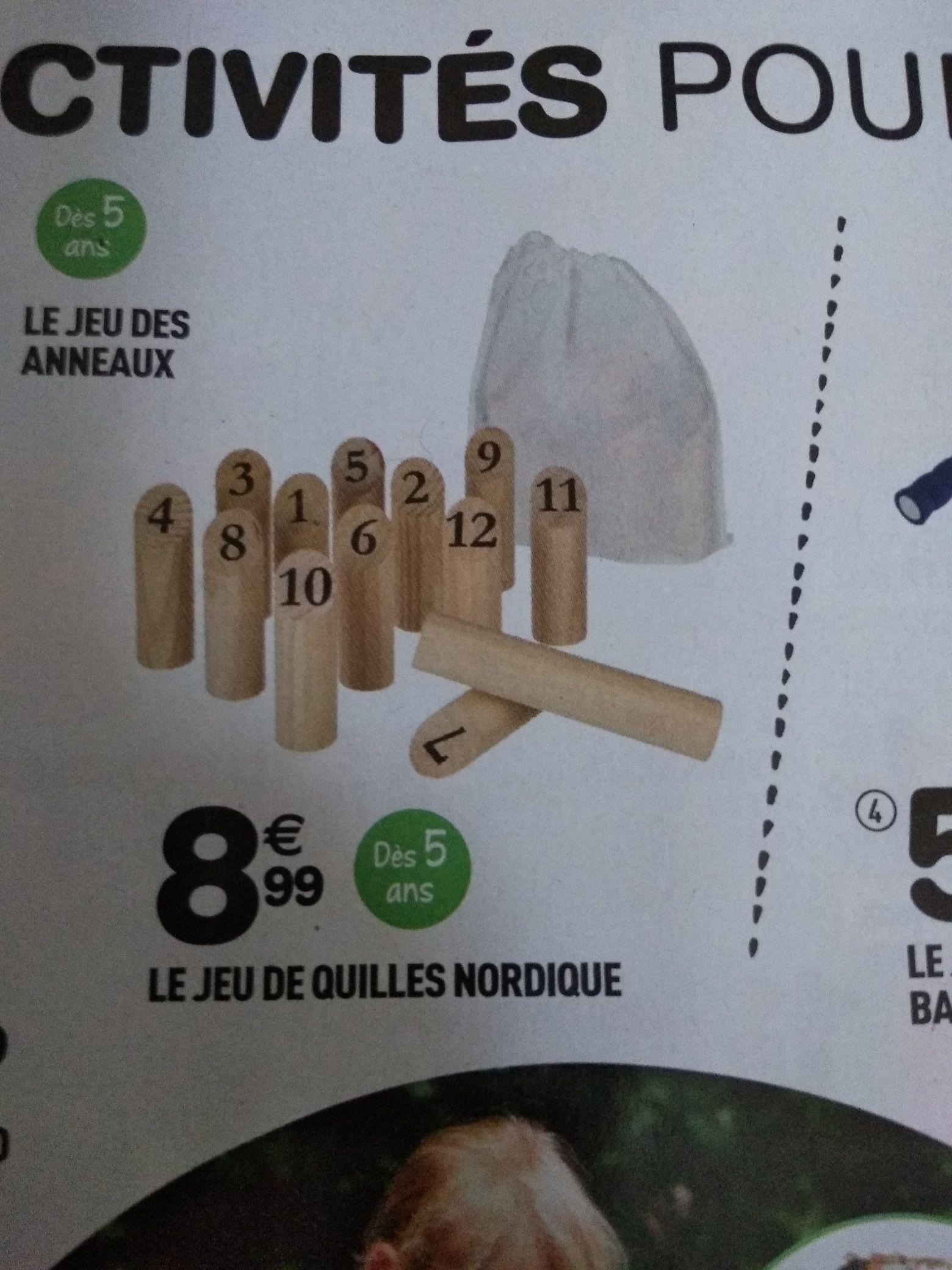 Jeu de quilles nordique - Thionville (57)