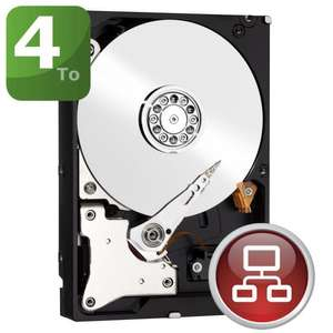 "Disque dur interne 3,5"" WD Red WD40EFRX 4 To - 64 Mo - SATA III (6Gb/s)"
