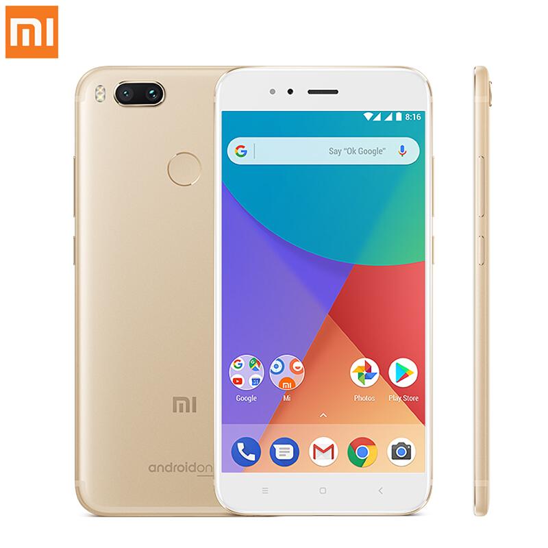 "Smartphone 5.5"" Xiaomi Mi A1 - SnapDragon 625, 4 Go de RAM, 32 Go, 4G (B20), or"