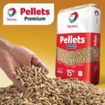 Lot de 66 Sacs de 15 Kg de pellets total premium DIN+