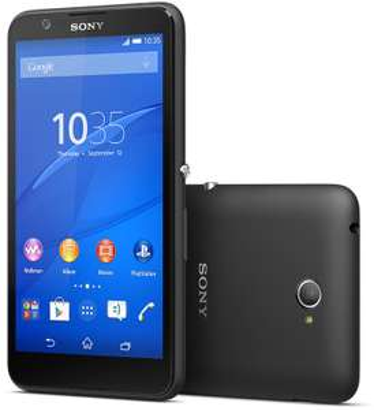 """Smartphone 5"""" Sony Xperia E4 8 Go (Dual SIM) 3G+ - Noir"""