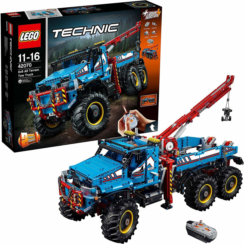 Lego Technic 42070 - La dépanneuse tout-terrain 6x6 (Frontaliers Belgique)