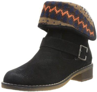 Boots cuir femme Little Marcel Vik (Tailles 37, 38, 39 et 41) - Noir ou beige