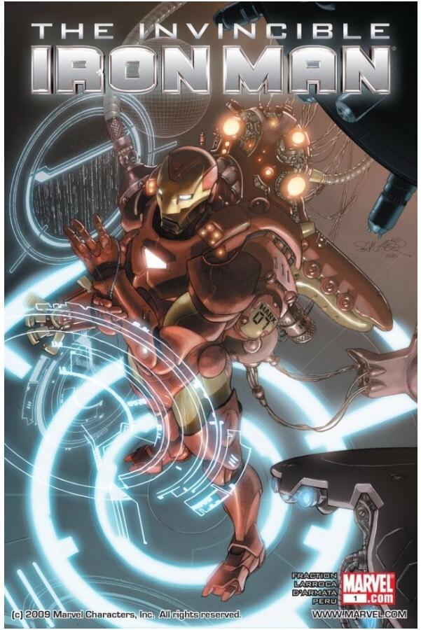 Sélection de 125 Comics Gratuits (Dématérialisés - En Anglais) - Ex: Invincible Iron Man (2008-2012) No.1