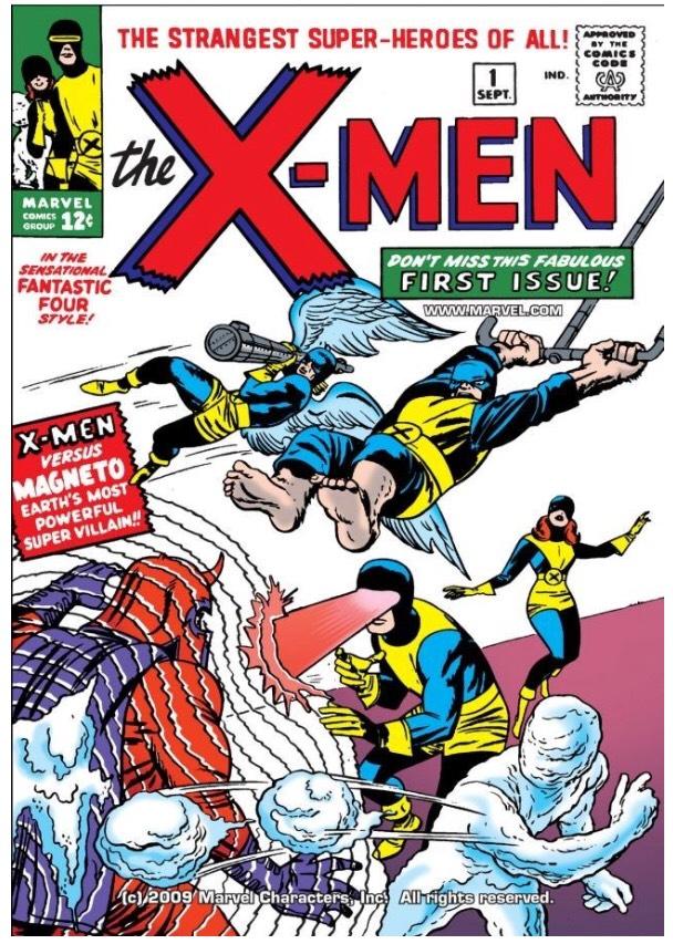 Sélection de 125 Comics Gratuits (Dématérialisés - En Anglais) - Ex: Uncanny X-Men (1963-2011) NO.1