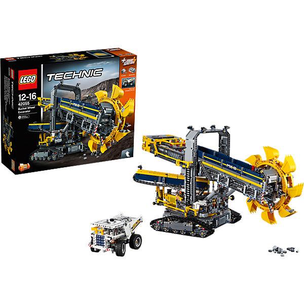 Jeu de construction Lego Technic - La pelleteuse à godets (42055)