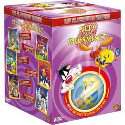 Coffret DVD Les Classiques de Titi & Grosminet - Édition limitée