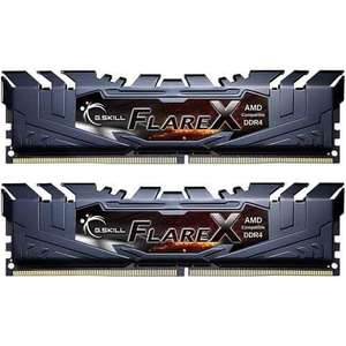 Barrettes de RAM G.Skill Flare X 16Go - (2x8 Go DDR4 2400MHz CAS15)