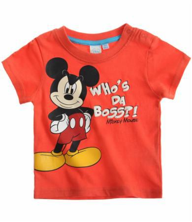 Sélection d'articles jusqu'à -70% + Livraison gratuite - Ex: T-shirt Mickey (3M/6M)