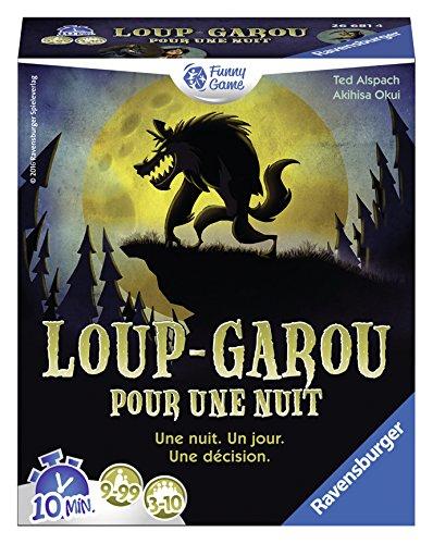 Séléction de Jeux de Société Ravensburger en Promotion - Ex: Ravensburger 26681 - Loup garou pour une nuit (Via ODR 50%)