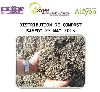 Distribution gratuite de compost (100L max.)