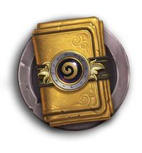 Paquet de cartes Classiques en or offert sur Hearthstone