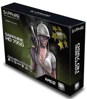 Carte graphique Radeon HD 7950 3G Lite Sapphire - reconditionné
