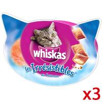Lot de 3 boîtes de friandises pour chat Whiskas ( 50% immédiate + 0.80€ BDR )