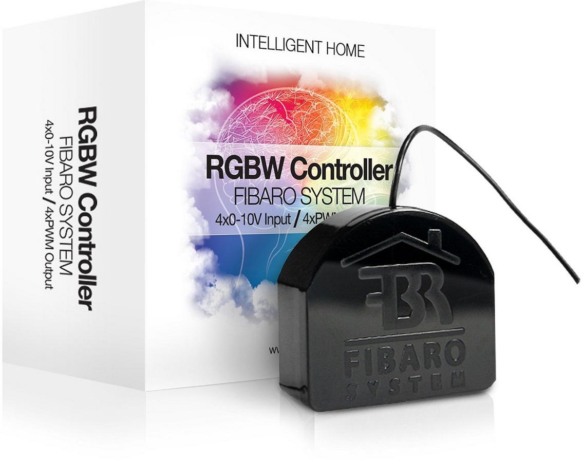 Contrôleur domotique Fibaro RGBW Z-Wave FGRGB-101