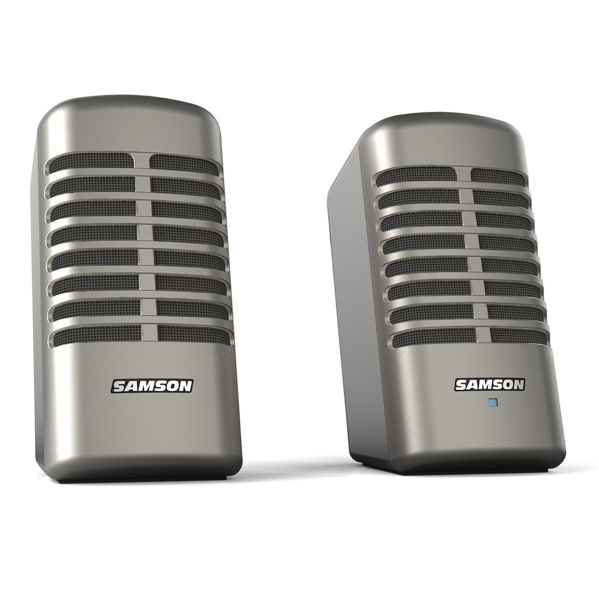 Système audio 2.0 pour PC Samson Meteor M2