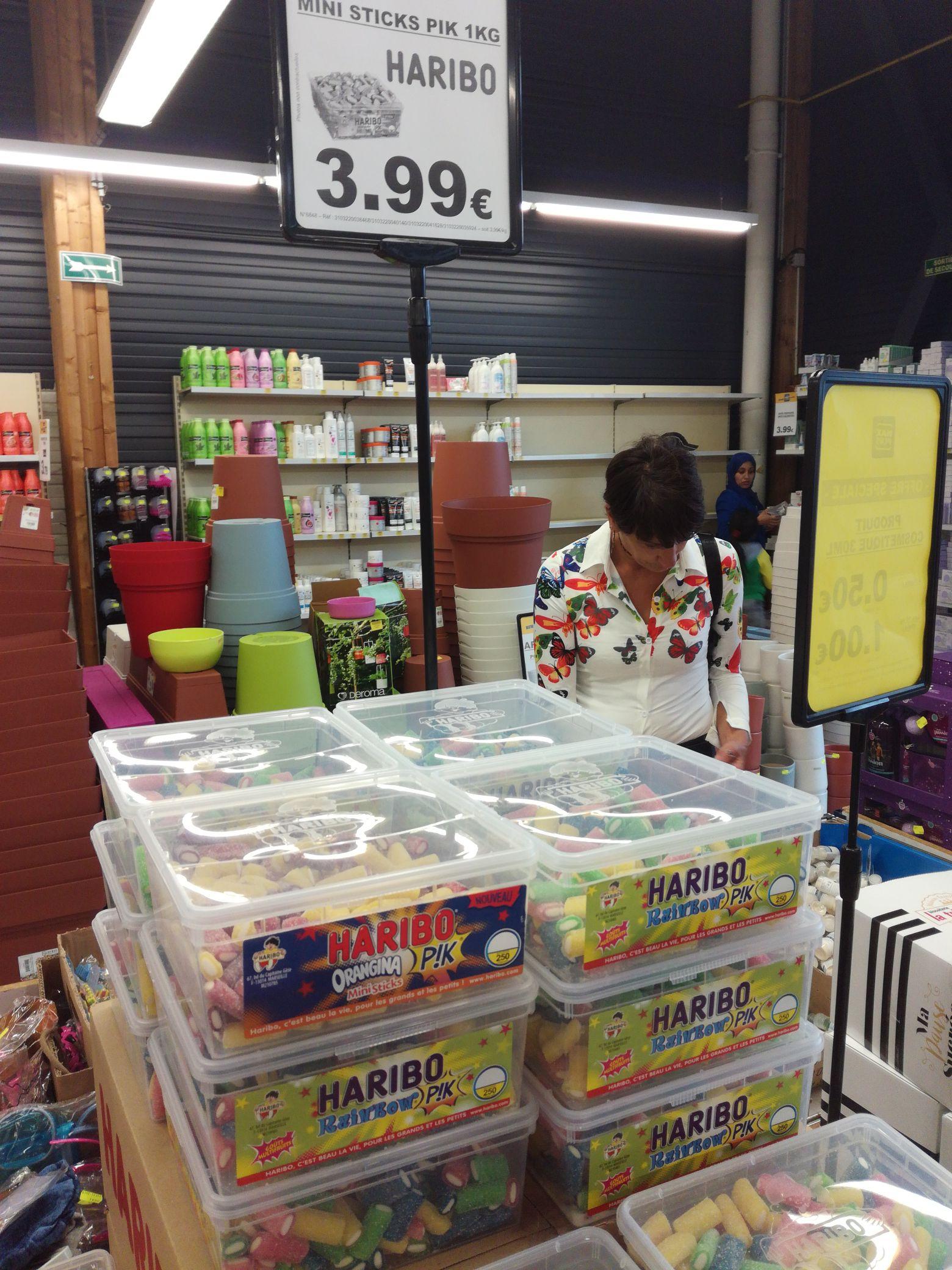 Boîte de bonbons Haribo Sticks Pik (1Kg) - Chantepie (35)