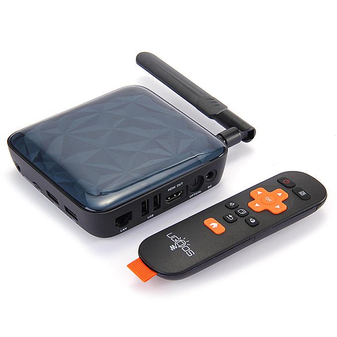 Box TV Ugoos UT3S dual boot Ubuntu / Android (Quad Core, HDMI, 2 Go RAM, 16 Go)