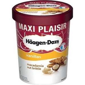 Sélection de produits en Promotion - Ex: Pot de Glace Haagen-Dazs Maxi Plaisir 560g (Variétés au choix - Via BDR)