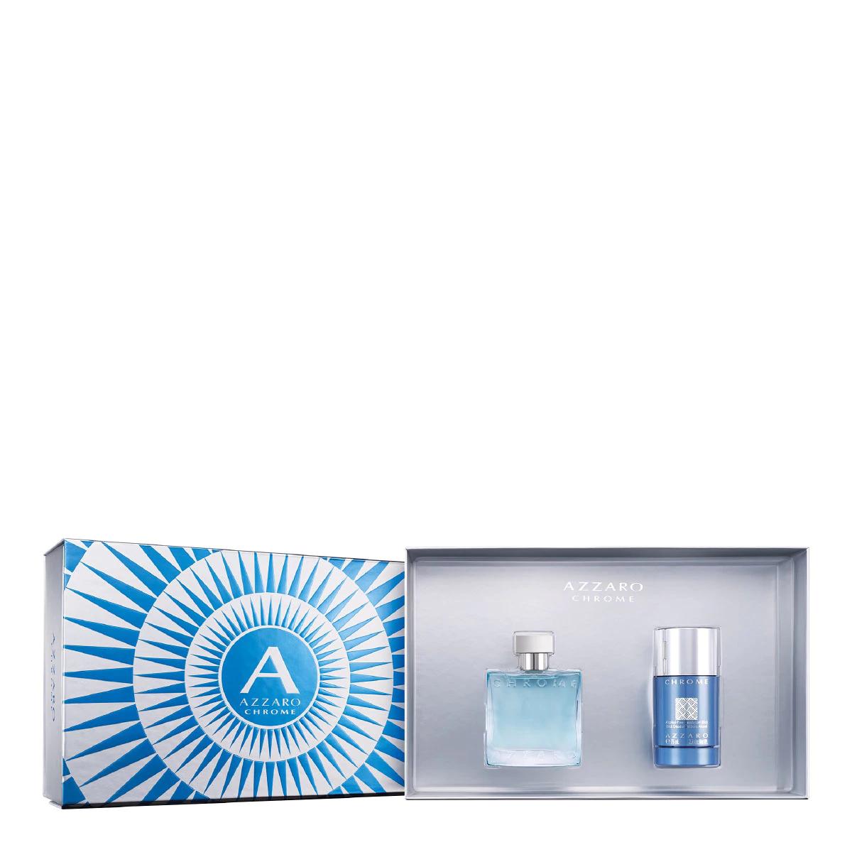 [Carte de fidélité] Sélection de coffrets Eau de toilette Azzaro - Ex : Coffret Eau de toilette Azzaro Chrome (edt 50ml + déodorant stick 75ml)