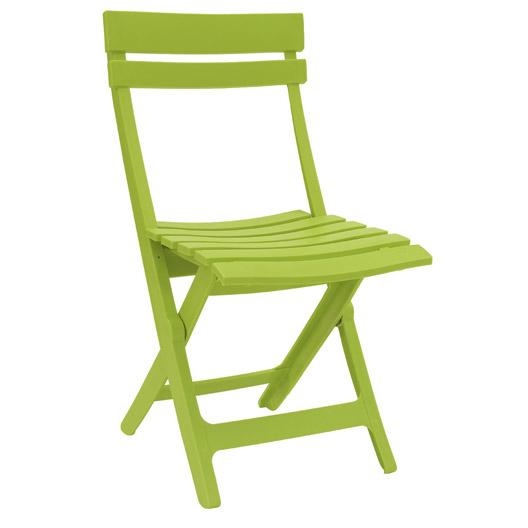 Chaise de jardin en résine Grosfillex ML851230 (Plusieurs coloris)