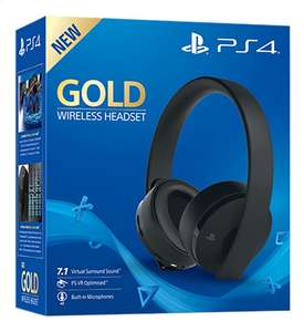 Casque Sony PS4 Gold (Frontaliers belgique)